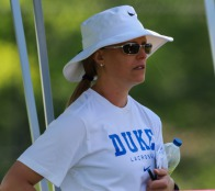 Kerstin Kimel, Duke Women's Lacrosse, was instrumental in passing the NCAA early recruiting legislation for lacrosse.  © Equity IX - SportsOgram - Photo by Leigh Ernst Friestedt